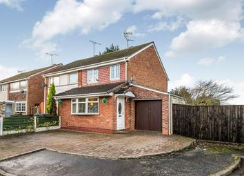 Thumbnail 3 bedroom semi-detached house for sale in Sharon Way, Hednesford, Cannock, Staffordshire