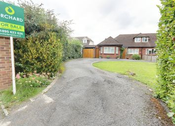 Thumbnail 4 bed detached bungalow for sale in Thornhill Road, Ickenham