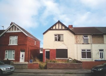 Thumbnail 3 bed end terrace house for sale in Church Road, Edlington, Doncaster