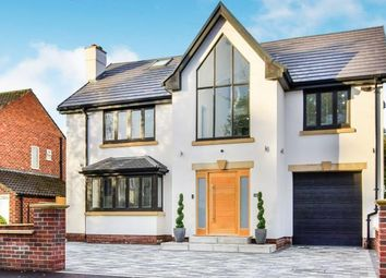 Thumbnail 4 bedroom detached house for sale in Rochester Grove, Hazel Grove, Stockport, Cheshire