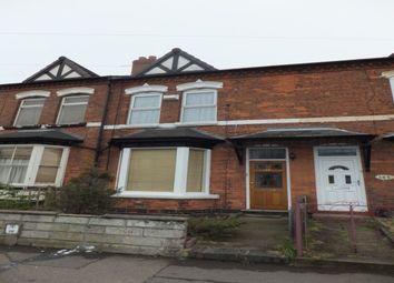 Thumbnail 2 bed terraced house to rent in Gravelly Lane, Erdington, Birmingham