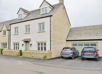 Thumbnail 5 bed detached house for sale in Teal Way, South Cerney, Cirencester