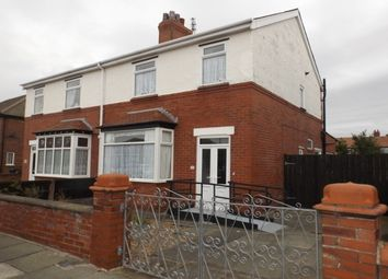 Thumbnail 3 bed semi-detached house to rent in Rossendale Road, St. Annes, Lytham St. Annes
