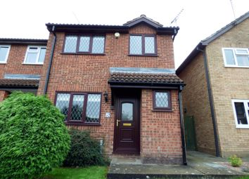 Thumbnail 3 bedroom end terrace house to rent in Lavenham Way, Stowmarket