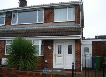 Thumbnail 3 bedroom semi-detached house to rent in Devonworth Place, Blyth