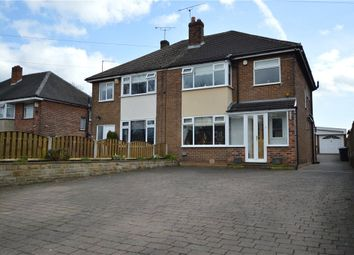 Thumbnail 3 bedroom semi-detached house for sale in Elland Road, Churwell, Leeds