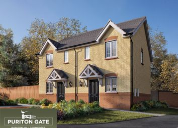 Thumbnail 2 bed property for sale in Puriton Hill, Puriton, Bridgwater