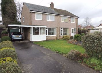 Thumbnail 3 bed semi-detached house for sale in Newlyn Close, Hazel Grove, Stockport