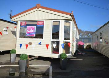 Thumbnail 2 bedroom mobile/park home for sale in Solent Breezes Holiday Park, Hook Lane, Warsash, Nr Fareham