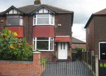 Thumbnail 2 bed semi-detached house to rent in Moorfield Avenue, Denton, Manchester