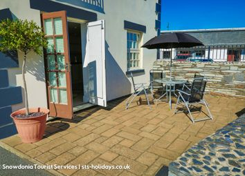 Thumbnail 2 bed flat for sale in The Oakleys, Porthmadog, North Wales