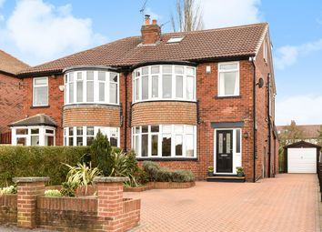 Thumbnail 4 bedroom semi-detached house for sale in Norton Road, Roundhay, Leeds