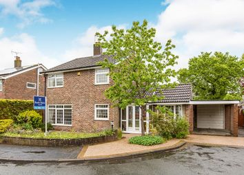 Thumbnail 4 bed detached house for sale in Arden Court, Congleton, Cheshire