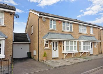 Thumbnail 3 bed semi-detached house for sale in Kershaw Close, Hornchurch, Essex
