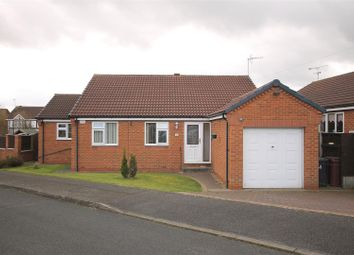 Thumbnail 3 bed detached bungalow for sale in Longshaw Close, North Wingfield, Chesterfield