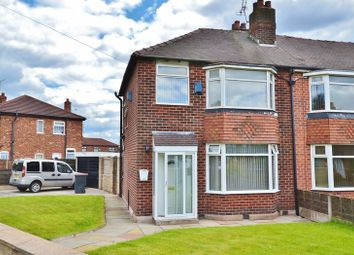 Thumbnail 3 bed semi-detached house for sale in Gore Crescent, Salford