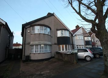 Thumbnail 3 bed semi-detached house to rent in Swanley Road, Welling