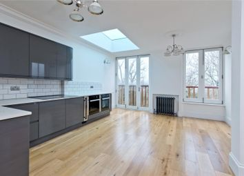 Thumbnail 3 bed flat for sale in Home Park Road, London