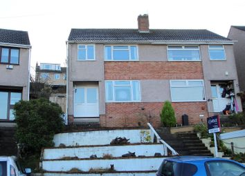 Thumbnail 3 bed semi-detached house for sale in Crantock Avenue, Headley Park, Bristol