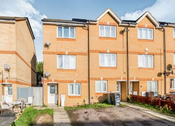 Thumbnail 4 bed town house for sale in Dunraven Avenue, Luton