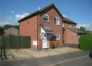 Thumbnail 2 bed semi-detached house for sale in Harris Close, Broughton Astley, Leicester