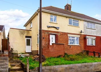 Thumbnail 3 bed semi-detached house for sale in Mcquade Place, Barry