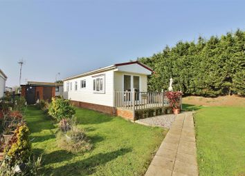 Thumbnail 1 bed mobile/park home for sale in Kings Park, Creek Road, Canvey Island