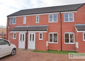 Thumbnail 2 bed terraced house for sale in Howard's Way, Bradwell, Great Yarmouth