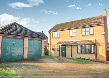 Thumbnail 4 bedroom detached house for sale in Norwich Road, Attleborough