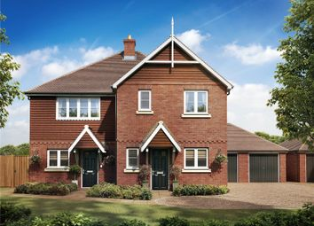 Thumbnail 3 bedroom semi-detached house for sale in St Georges Road, Badshot Lea, Farnham, Surrey