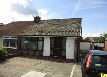 Thumbnail 1 bed semi-detached bungalow for sale in South Avenue, Plank Lane, Leigh