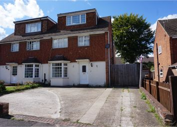 Thumbnail 4 bed semi-detached house for sale in The Beeches, Aylesford