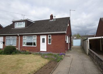 Thumbnail 2 bed semi-detached bungalow for sale in Werburgh Drive, Trentham, Stoke-On-Trent