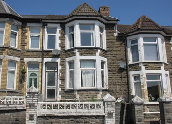 Thumbnail 4 bed terraced house for sale in Wood Street, Bargoed