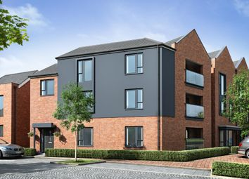 "Thumbnail 2 bed flat for sale in ""Cherwell"" at Dunnock Lane, Cottam, Preston"