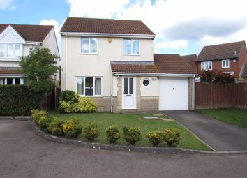 Thumbnail 3 bed detached house for sale in Cooks Close, Bradley Stoke, Bristol