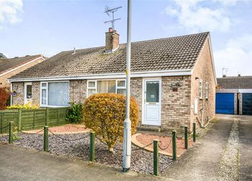 Thumbnail 2 bed semi-detached bungalow for sale in Cedar Close, Thorpe Willoughby, Selby
