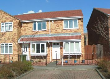 Thumbnail 2 bed end terrace house for sale in Silvermere Drive, Ryton