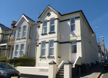 Thumbnail 1 bed flat to rent in Salisbury Road, Lipson, Plymouth