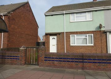 Thumbnail 2 bedroom terraced house to rent in Durham Street, The Headland, Hartlepool