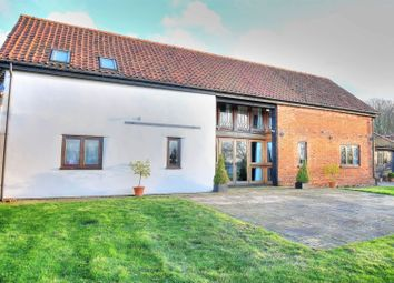 Thumbnail 6 bed barn conversion for sale in Hardingham Road, Norwich