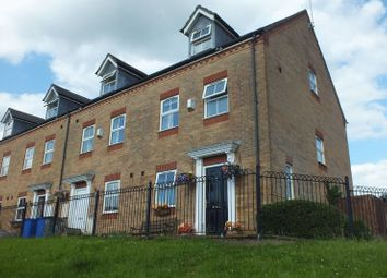 Thumbnail 3 bed mews house for sale in Heron Close, Packmoor, Stoke-On-Trent