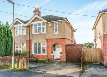 Thumbnail 3 bed semi-detached house for sale in Edward Avenue, Bishopstoke, Eastleigh