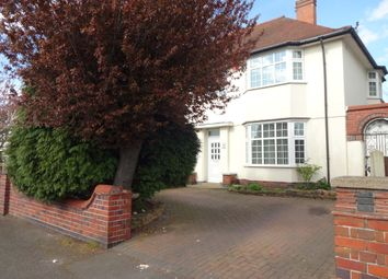 Thumbnail 3 bed semi-detached house for sale in Evington Lane, Leicester, Leicestershire