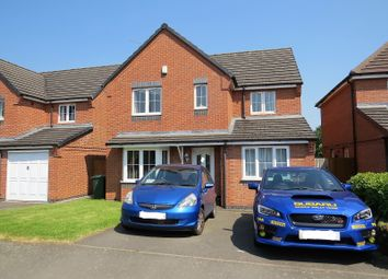 Thumbnail 3 bedroom detached house for sale in Lucerne Close, Aldermans Green, Coventry