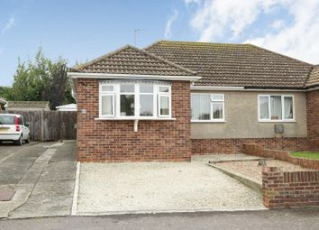 Thumbnail 2 bed semi-detached bungalow for sale in Freemans Road, Minster, Ramsgate