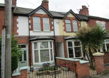 Thumbnail 2 bed terraced house for sale in Croft Road, Cosby, Leicester