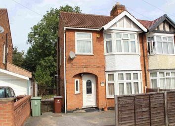Thumbnail 3 bed semi-detached house to rent in Charlbury Road, Nottingham, Nottinghamshire