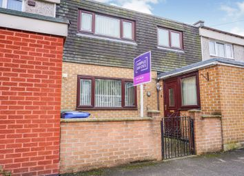 Thumbnail 3 bed terraced house for sale in Goathland Drive, Sheffield