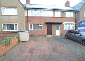 Thumbnail 3 bed terraced house for sale in Thropton Terrace, High Heaton, Newcastle Upon Tyne